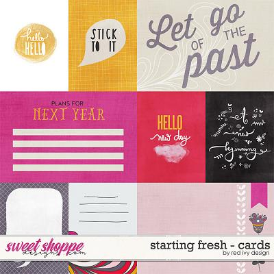Starting Fresh - Cards by Red Ivy Design