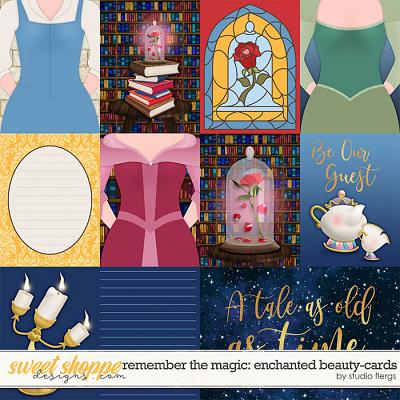 Remember the Magic: ENCHANTED BEAUTY- CARDS by Studio Flergs