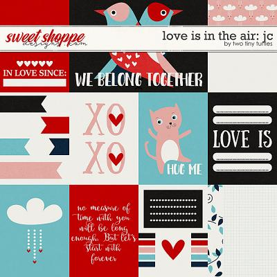 Love Is In The Air Cards by Two Tiny Turtles