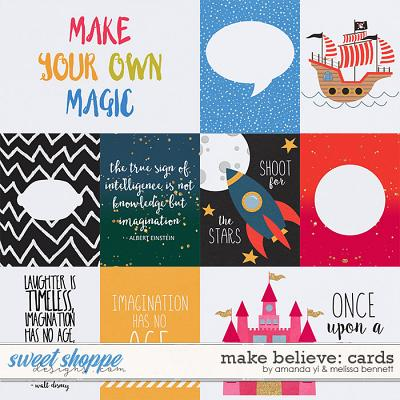 Make Believe: Cards by Amanda Yi & Melissa Bennett