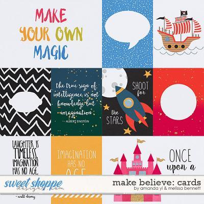 Make Believe: Cards by Amanda Yi & Melissa Bennett