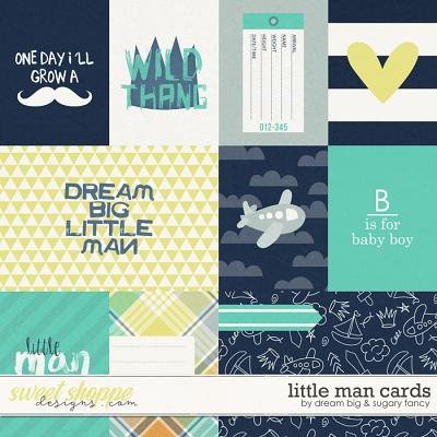 Little Man Cards by Dream Big Designs and Sugary Fancy