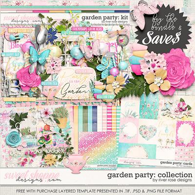 Garden Party: Collection + FWP by River Rose Designs