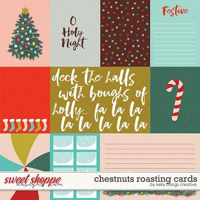 Chestnuts Roasting Cards by Kelly Bangs Creative