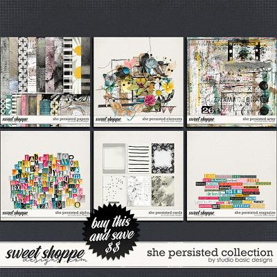 She Persisted Collection by Studio Basic