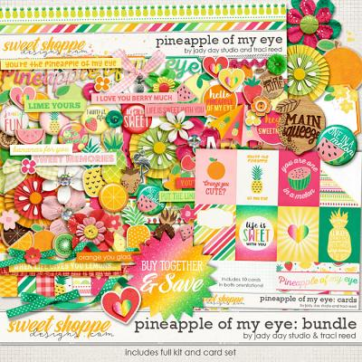 Pineapple of My Eye Bundle by Traci Reed and Jady Day Studio