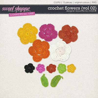 Crochet Flowers {Vol 02} by Christine Mortimer