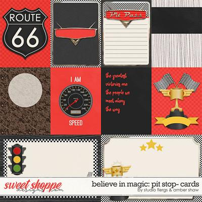 Believe in Magic: Pitstop - Cards by Amber Shaw & Studio Flergs