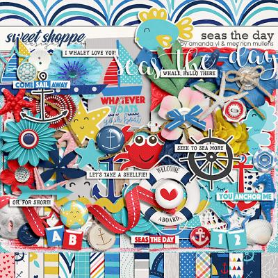 Seas the Day-Kit by Amanda Yi Designs and Meghan Mullens