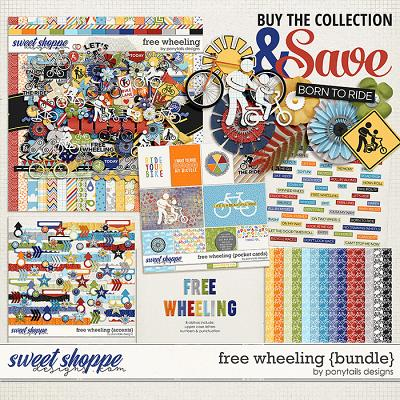 Free Wheeling Bundle by Ponytails