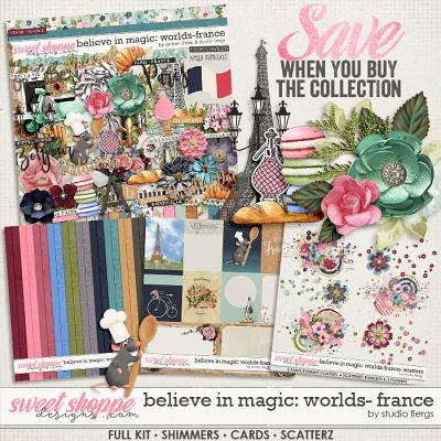 Believe in Magic: Worlds - France Collection by Amber Shaw & Studio Flergs