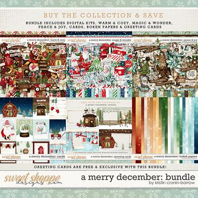 A Merry December: Bundle by Kristin Cronin-Barrow