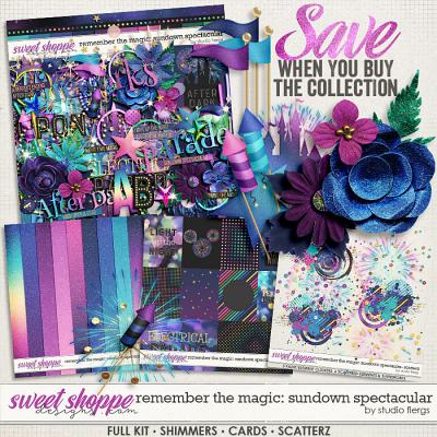 Remember the Magic: SUNDOWN SPECTACULAR- COLLECTION & *FWP* by Studio Flergs