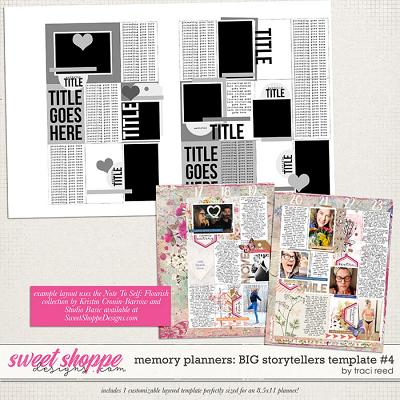 Memory Planners - Big - Storytellers #4 by Traci Reed