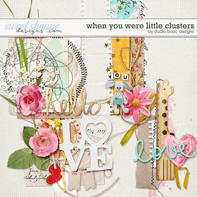 When You Were Little Clusters by Studio Basic