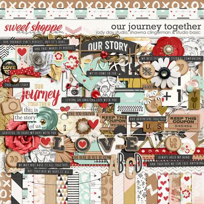 Our Journey Together Kit by Jady Day Studio, Shawna Clingerman and Studio Basic