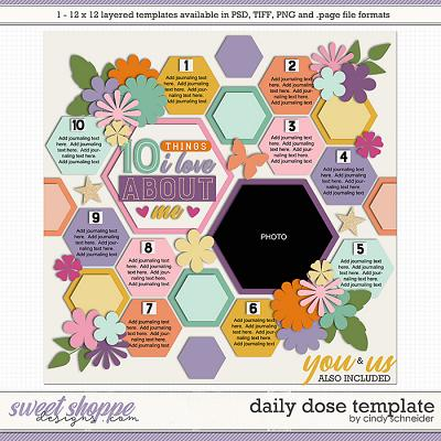 Cindy's Layered Templates - Daily Dose Template by Cindy Schneider
