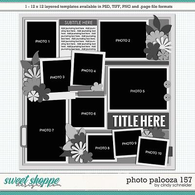 Cindy's Layered Templates - Photo Palooza 157 by Cindy Schneider