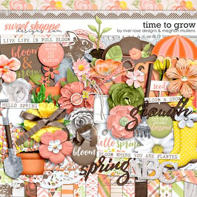 Time to Grow by Meghan Mullens & River Rose Designs