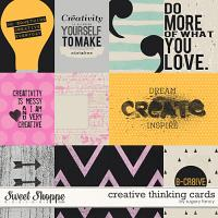 Creative Thinking Cards by Sugary Fancy