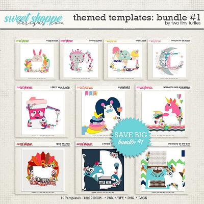 Themed Templates :: Bundle #1 by Two Tiny Turtles