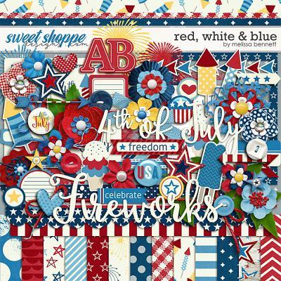 Red, White & Blue by Melissa Bennett