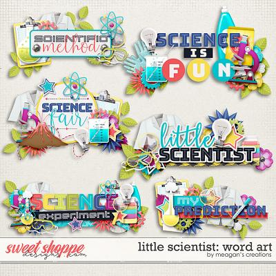 Little Scientist: Word Art by Meagan's Creations