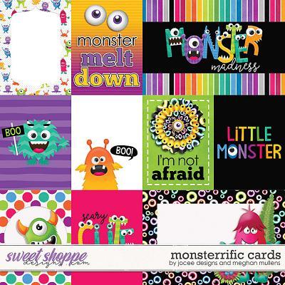 Monsterrific-Card Pack by JoCee Designs & Meghan Mullens