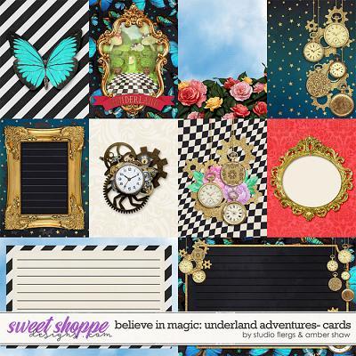 Believe in Magic: Underland Adventure Cards by Amber Shaw & Studio Flergs
