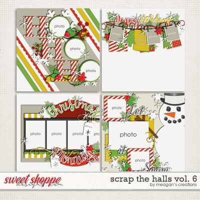 Scrap the Halls Vol. 6 by Meagan's Creations