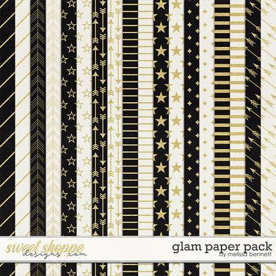 Glam Paper Pack by Melissa Bennett
