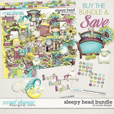 Sleepy Head Bundle by JoCee Designs