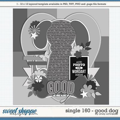 Cindy's Layered Templates - Single 160: Good Dog by Cindy Schneider