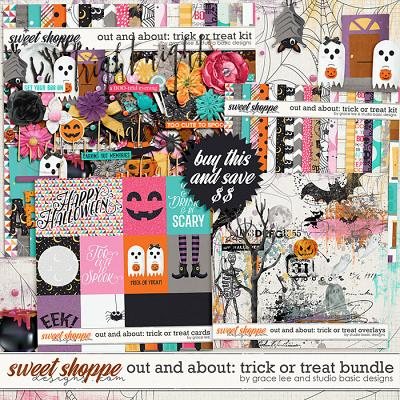 Out and About: Trick or Treat Bundle by Grace Lee and Studio Basic Designs