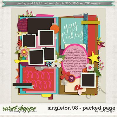 Brook's Templates - Singleton 98 - Packed Page by Brook Magee