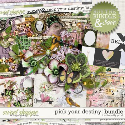PICK YOUR DESTINY | BUNDLE by The Nifty Pixel
