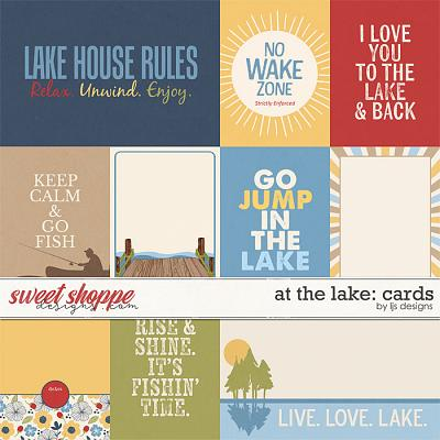 At The Lake: Cards by LJS Designs