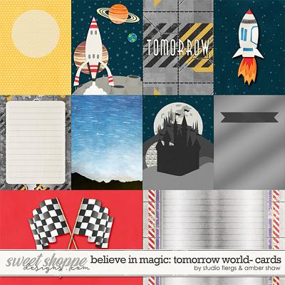Believe in Magic: Tomorrow World Cards by Amber Shaw & Studio Flergs