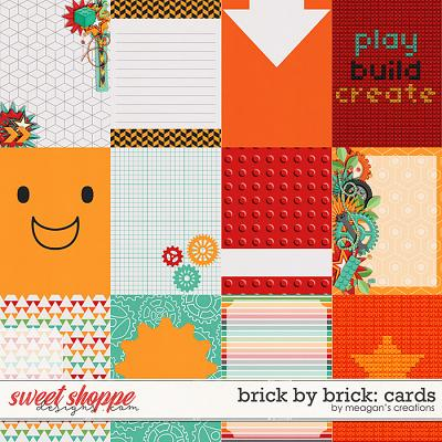 Brick by Brick: Cards by Meagan's Creations