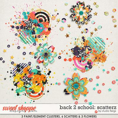 Back 2 School: SCATTERZ by Studio Flergs