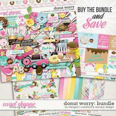 Donut worry - bundle by Meagan's Creations & WendyP Designs