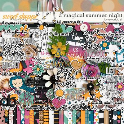 A magical summer night by Amanda Yi