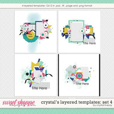 Crystal's Layered Templates Set 4 by Crystal Livesay