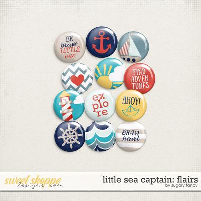 Little Sea Captain: Flairs by Sugary Fancy