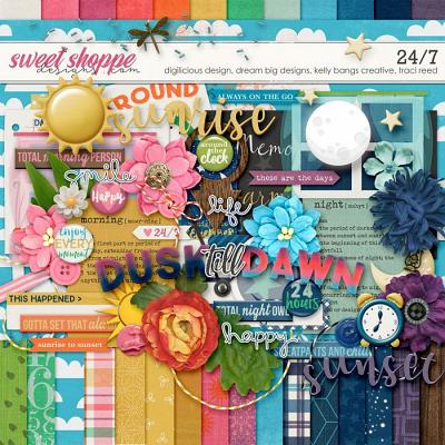 *FREE with your $15 Purchase* 24/7 by Christine, Cheri, Kelly & Traci