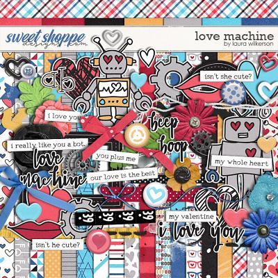 Love Machine: Kit by Laura Wilkerson