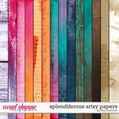 Splendiferous Artsy Papers by Libby Pritchett