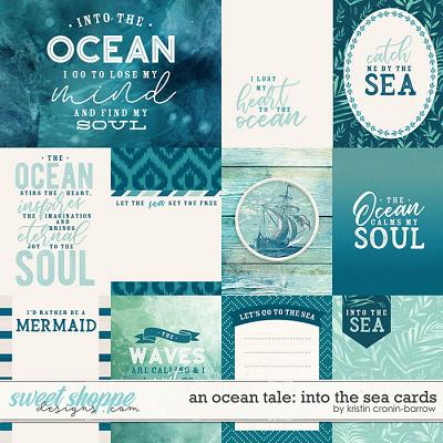 An Ocean Tale: Into the Sea: Cards by Kristin Cronin-Barrow