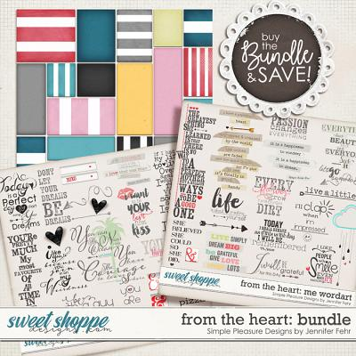 from the heart bundle: Simple Pleasure Designs by Jennifer Fehr