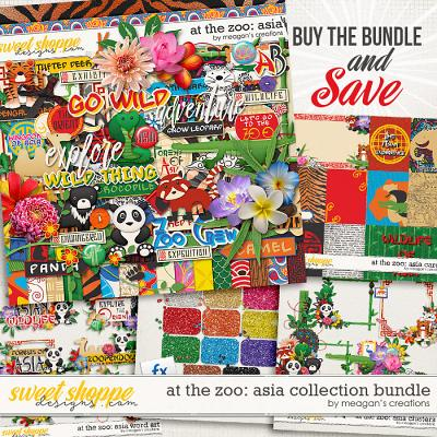 At the Zoo: Asia Collection Bundle by Meagan's Creations